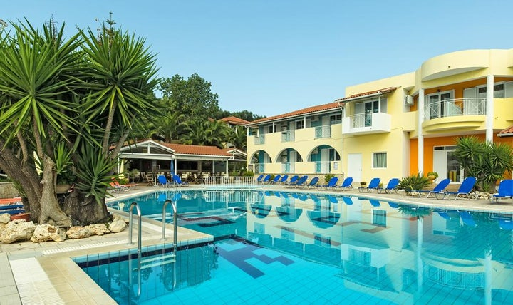 Sunrise Hotel in Tsilivi, Zante, Greek Islands