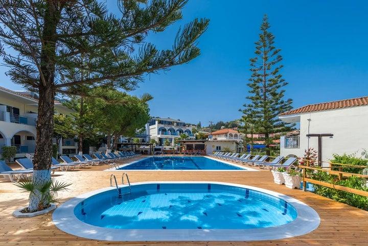 Contessa Hotel in Argassi, Zante, Greek Islands
