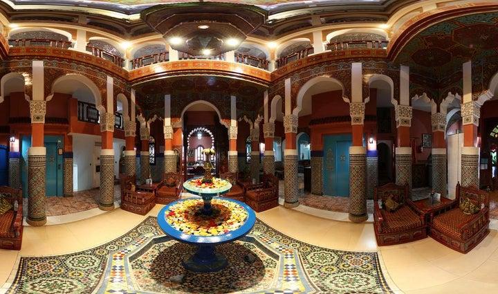 Moroccan House in Marrakech, Morocco