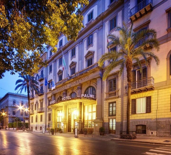 Grand Hotel Et Des Palmes in Palermo, Sicily, Italy