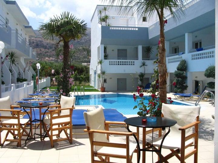 Emerald Hotel in Malia, Crete, Greek Islands