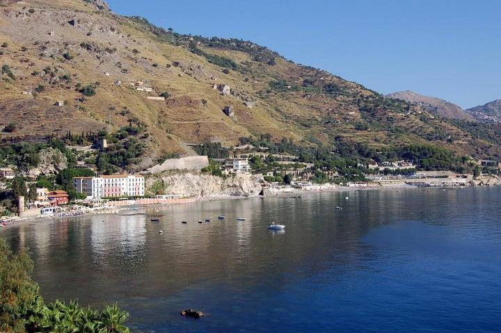 Lido Mediterranee in Taormina, Sicily, Italy