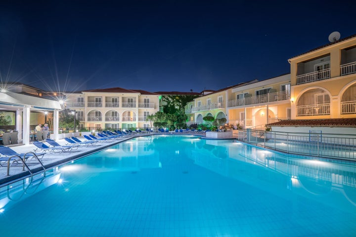 Diana Palace Hotel in Argassi, Zante, Greek Islands