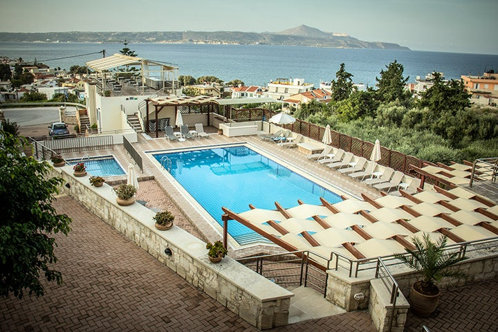 Sunrise Suites in Kalyves, Crete, Greek Islands