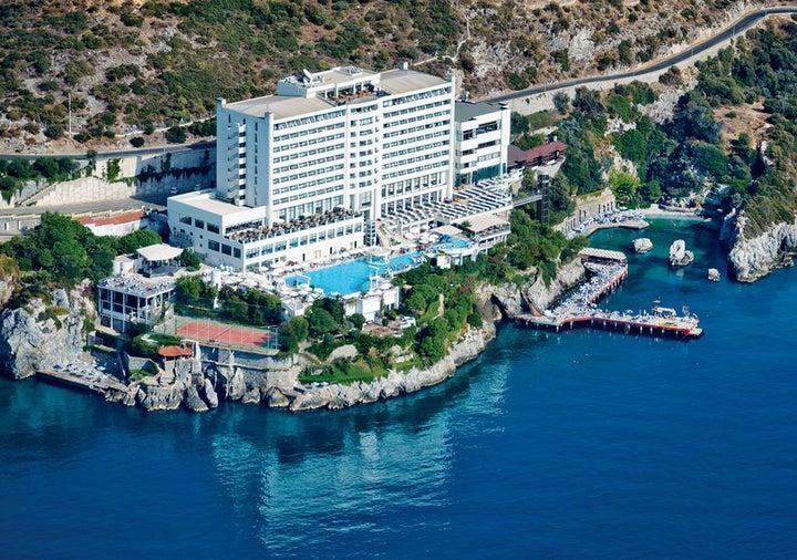 Korumar Hotel in Kusadasi, Aegean Coast, Turkey