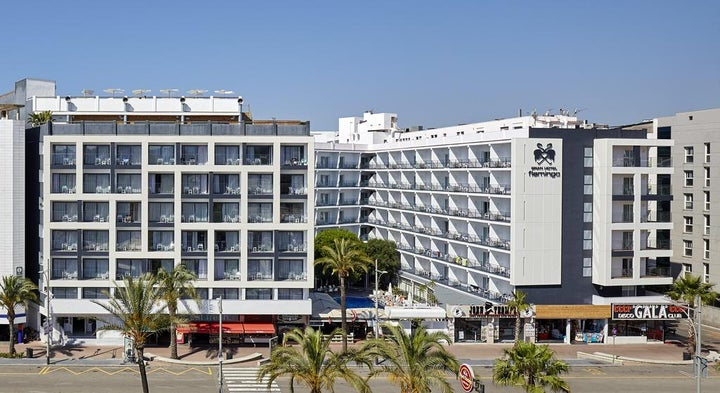Gran Hotel Flamingo in Lloret de Mar, Costa Brava, Spain