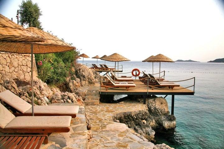 Kulube Hotel in Kalkan, Antalya, Turkey