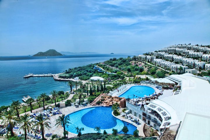 Yasmin Bodrum Resort in Turgutreis, Aegean Coast, Turkey