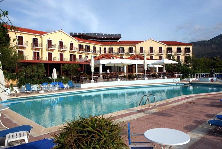 Karavados Beach Hotel and Bungalows in Karavados, Kefalonia, Greek Islands