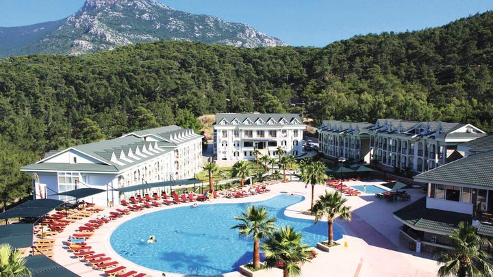 Green Forest Hotel in Fethiye, Dalaman, Turkey