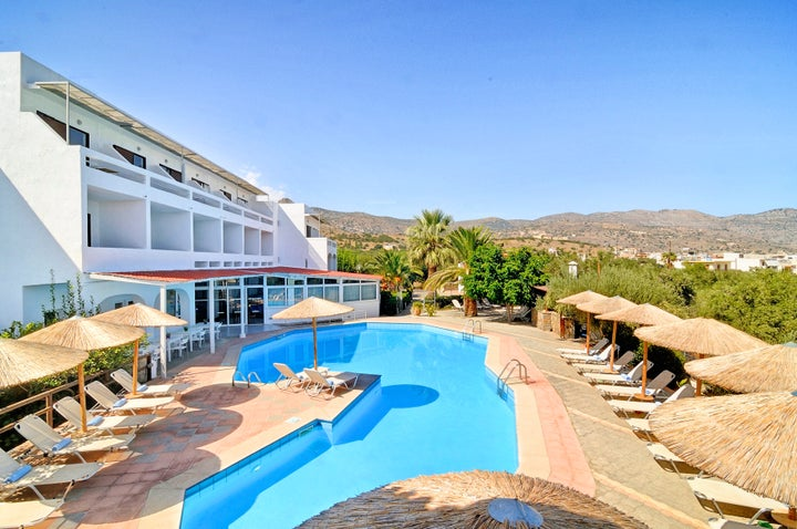 Elounda Krini Hotel in Elounda, Crete, Greek Islands