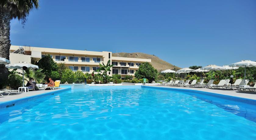 Beau Olive Garden In Lardos, Rhodes, Greek Islands