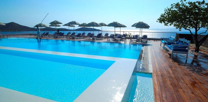 Elounda Ilion Hotel in Elounda, Crete, Greek Islands