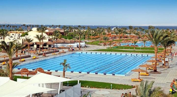 Desert Rose Resort in Hurghada, Red Sea, Egypt