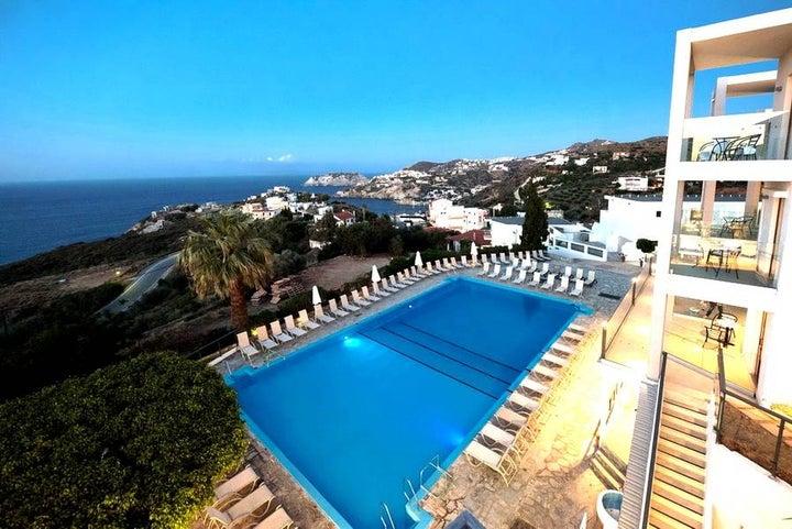 Village Panorama Hotel in Aghia Pelagia, Crete, Greek Islands