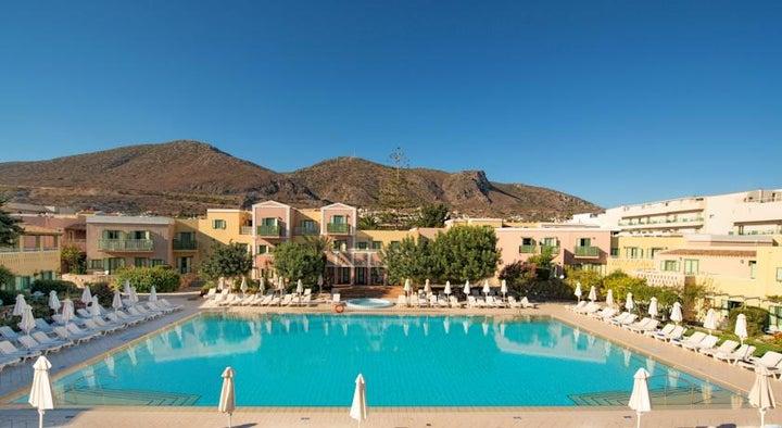 Silva Beach Hotel In Hersonissos Crete Greek Islands