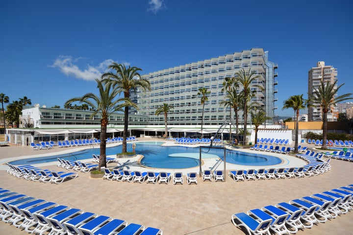 Samos Hotel in Magaluf, Majorca, Balearic Islands