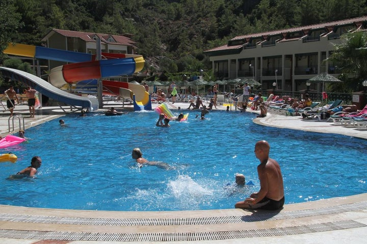 Mirage World Hotel in Icmeler, Dalaman, Turkey