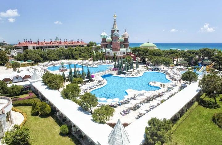 PGS Kremlin Palace in Lara Beach, Antalya, Turkey