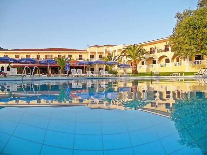 Palmyra Hotel (Zakynthos) in Argassi, Zante, Greek Islands