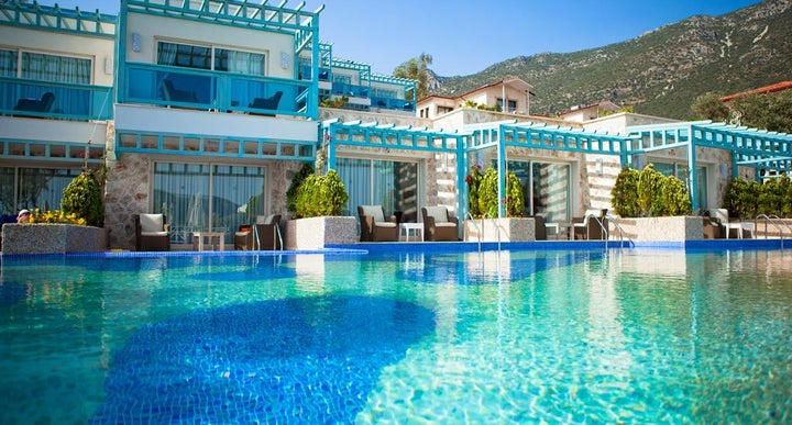 Asfiya Sea View Hotel In Kalkan Antalya Turkey