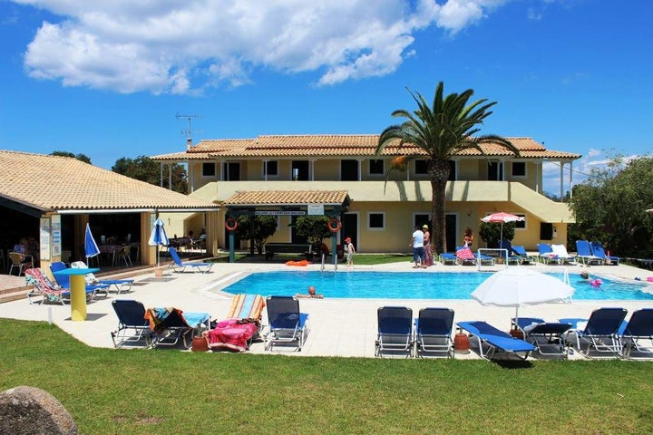 Elli Studios in Kavos, Corfu, Greek Islands