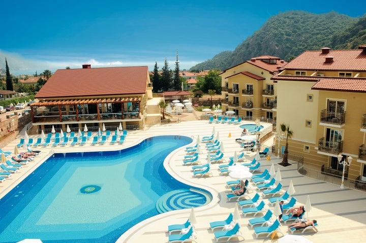 Marcan Resort Hotel in Olu Deniz, Dalaman, Turkey