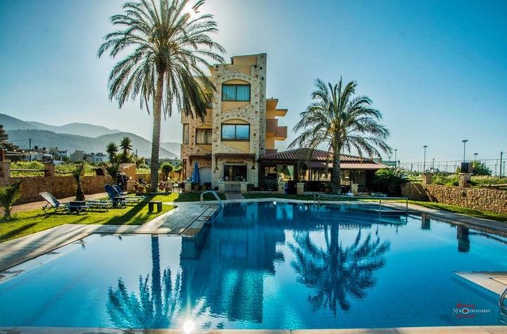 Danelis Apartments in Malia, Crete, Greek Islands