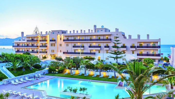 Giannoulis Santa Marina Beach Chania in Aghia Marina, Crete, Greek Islands
