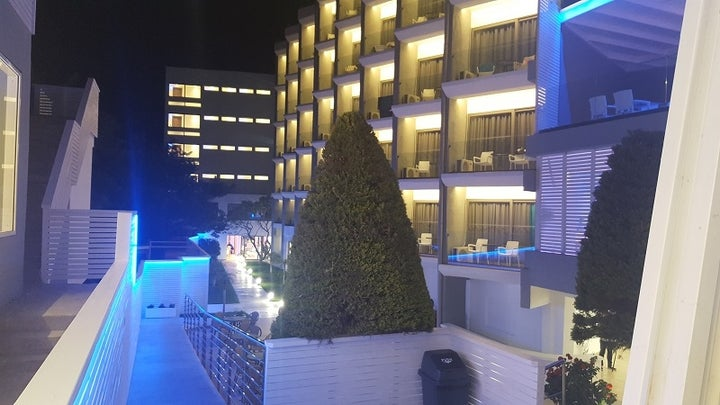 Oceanis Park Hotel in Ixia, Rhodes, Greek Islands