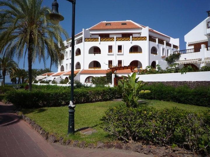 Parque Santiago III and IV in Playa de las Americas, Tenerife, Canary Islands