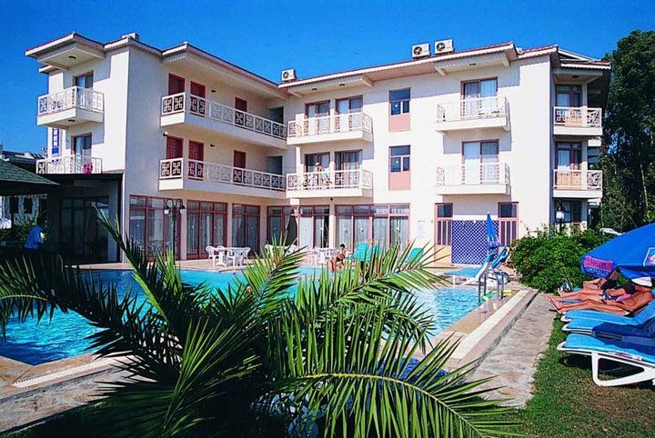 Ceren Hotel in Calis Beach, Dalaman, Turkey