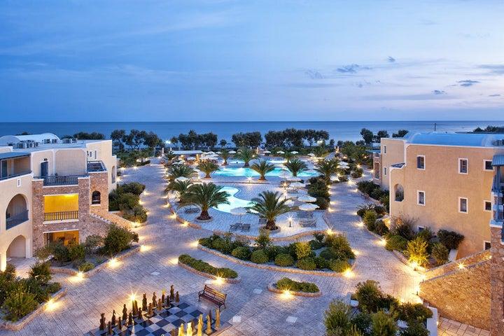 Santo Miramare Resort in Perissa, Santorini, Greek Islands