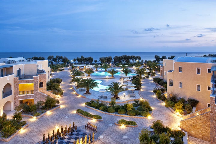 Santo Miramare Resort in Perivolos, Santorini, Greek Islands