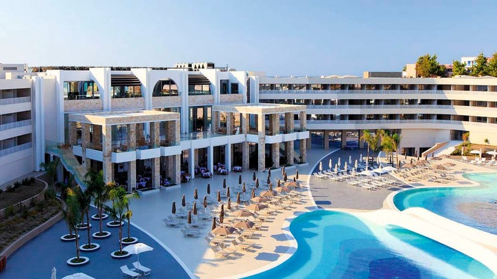 Princess Andriana Resort & Spa in Kiotari, Rhodes, Greek Islands