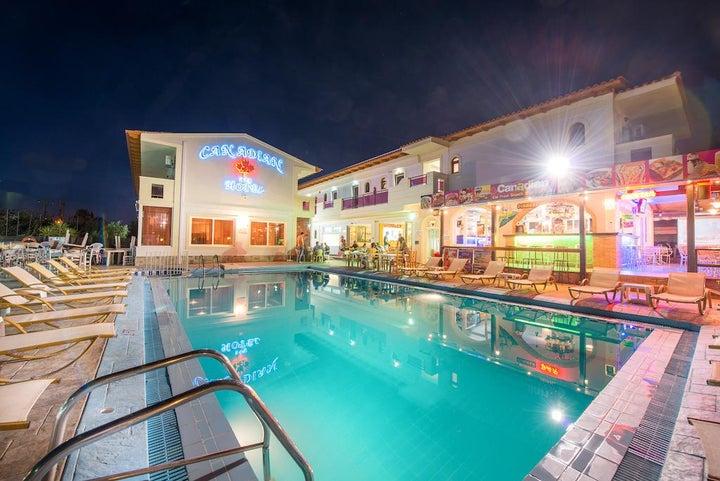 Canadian Hotel in Laganas, Zante, Greek Islands