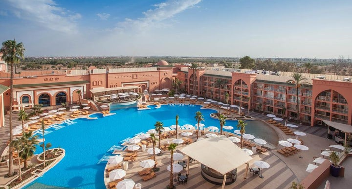 Savoy Le Grand Hotel In Marrakech Morocco