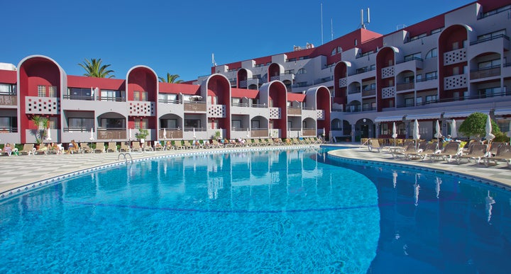 Muthu Oura Praia Hotel Apartments In Albufeira Algarve Portugal