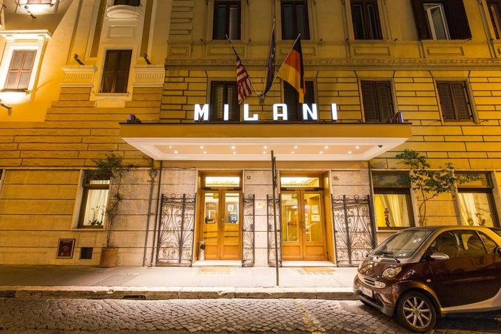 Milani in Rome, Italy