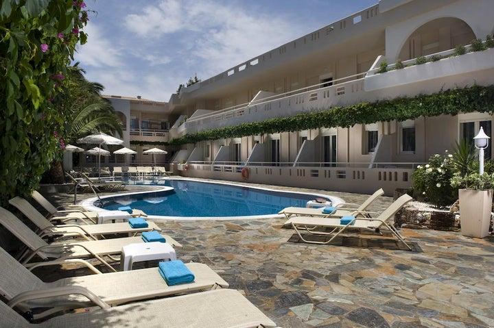 Axos Hotel in Rethymnon, Crete, Greek Islands