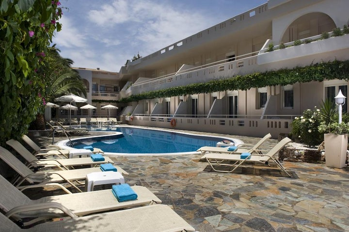 Axos Hotel Apartments in Rethymnon, Crete, Greek Islands