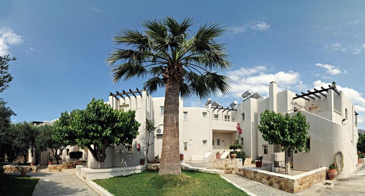Ourania Apartments in Gouves, Crete | Holidays from £177pp ...