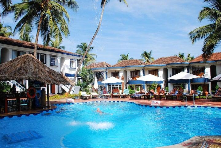 Santana Beach Resort in Candolim, Goa, India