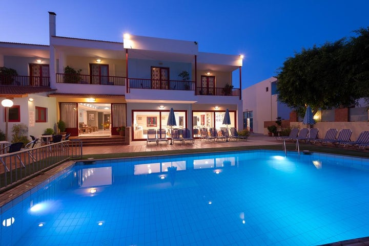Thalassi Hotel in Rethymnon, Crete, Greek Islands