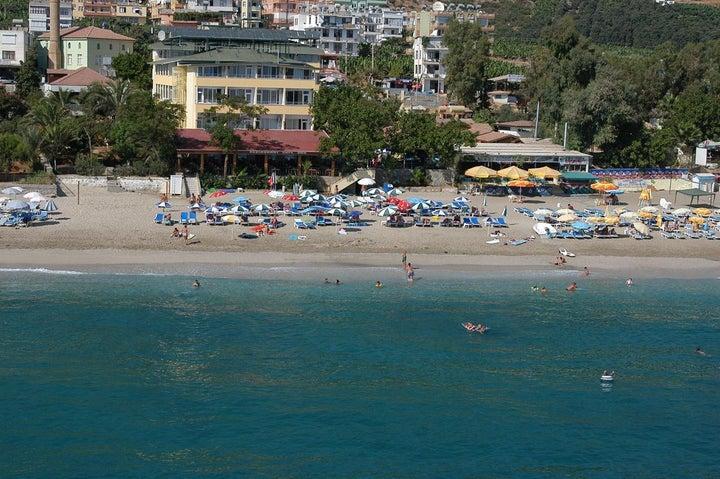 Kleopatra Muz Hotel in Alanya, Antalya, Turkey