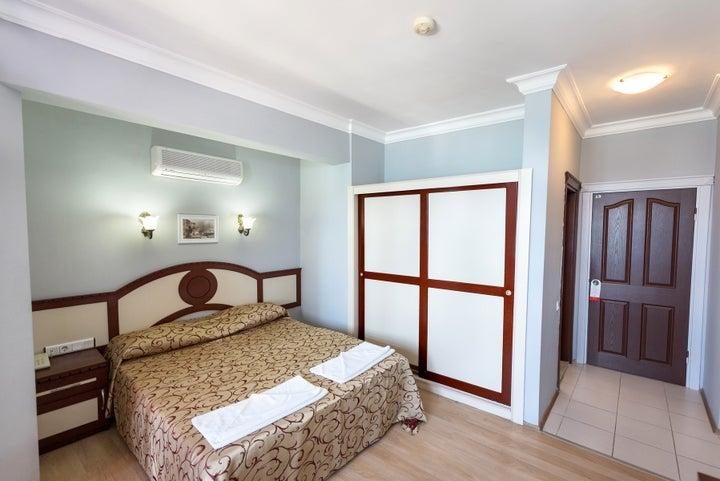 Gunes Hotel in Calis Beach, Dalaman, Turkey