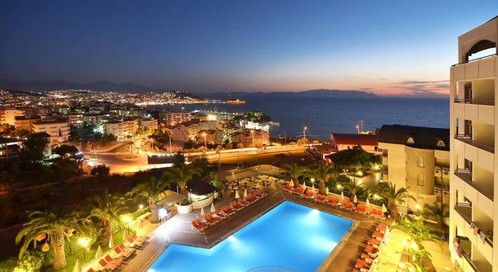 The Panorama Hill Hotel in Kusadasi, Aegean Coast, Turkey