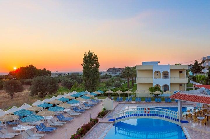 Memphis Beach Hotel in Kolymbia, Rhodes, Greek Islands