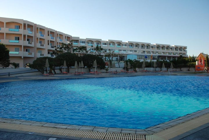 Sovereign Beach Hotel in Kardamena, Kos, Greek Islands