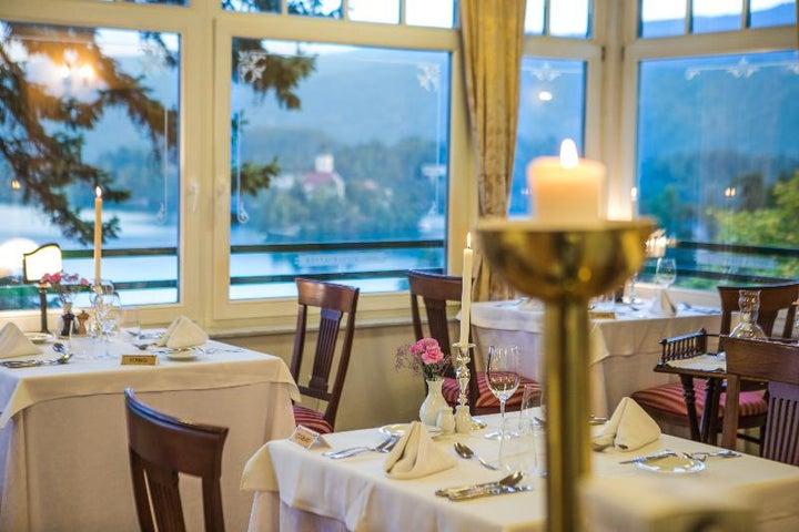 Hotel Triglav Bled in Lake Bled, Slovenia